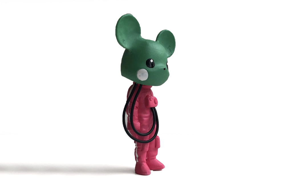 Custom Mikachu [Green/ Pink] by Klav