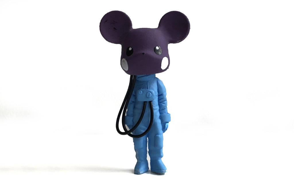 Custom Mikachu [Purple/ Blue] by Klav
