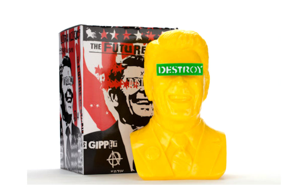 The Gipper [Yellow] by Frank Kozik