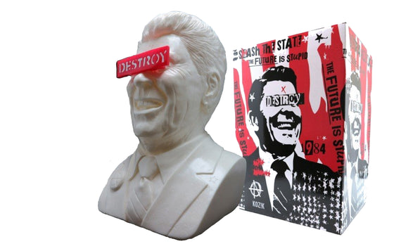 The Gipper [White] by Frank Kozik