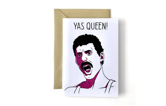 Notecard [Yas Queen!] by Nick Lacke