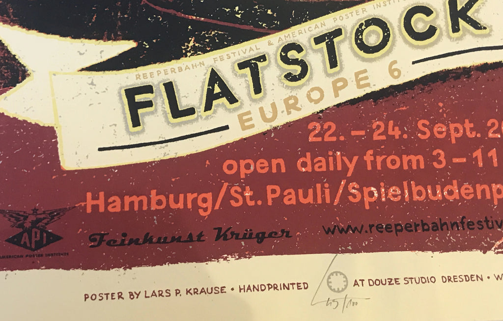 Flatstock [Europe 6] by Lars Krause