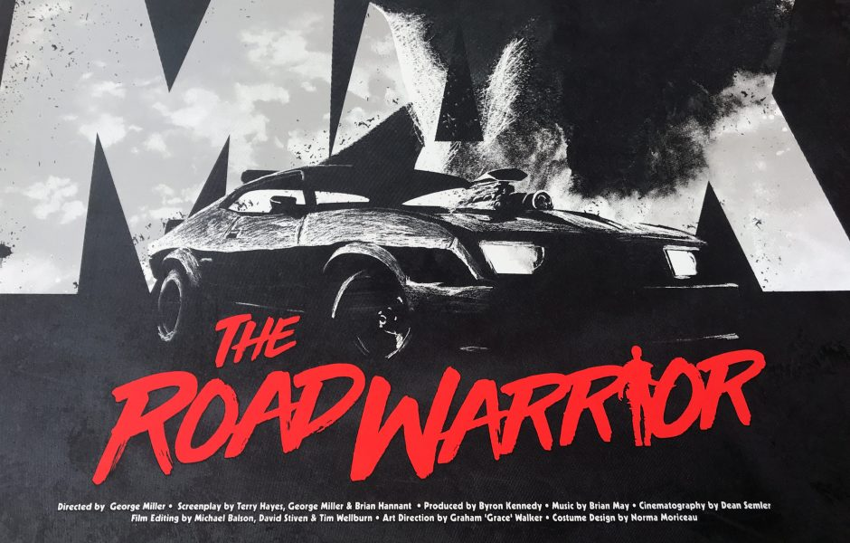 Mad Max The Road Warrior by Justin Van Genderen