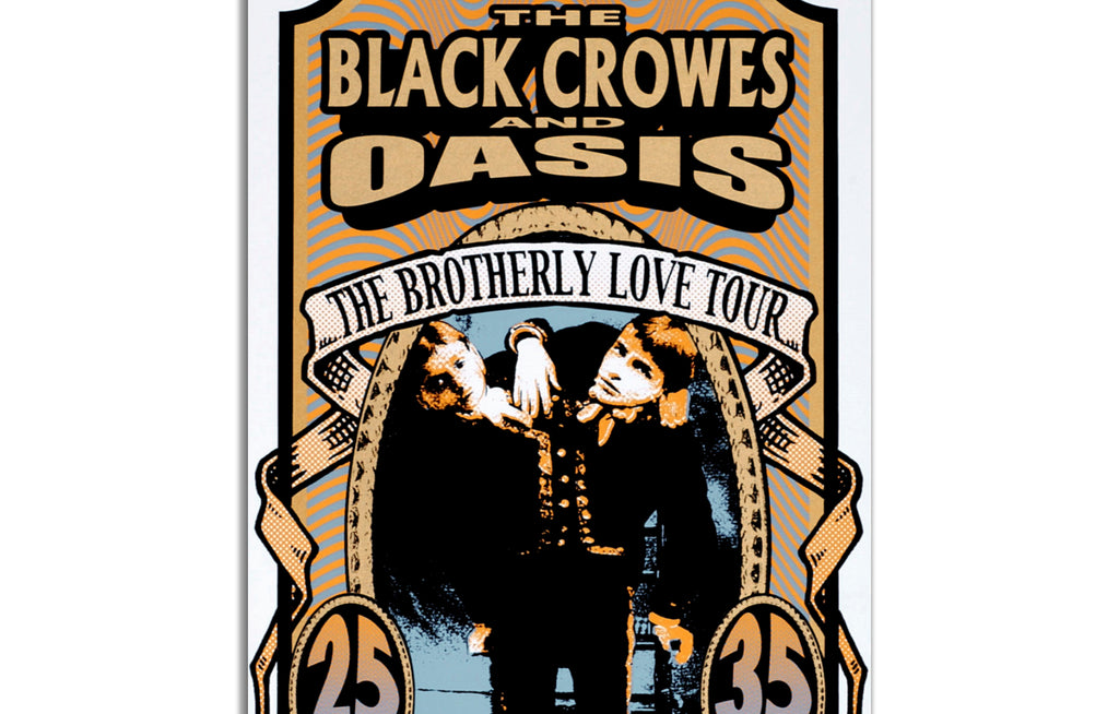 The Black Crowes with Oasis by Mark Arminski