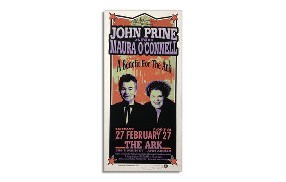 John Prine and Maura O'Connell by Mark Arminski