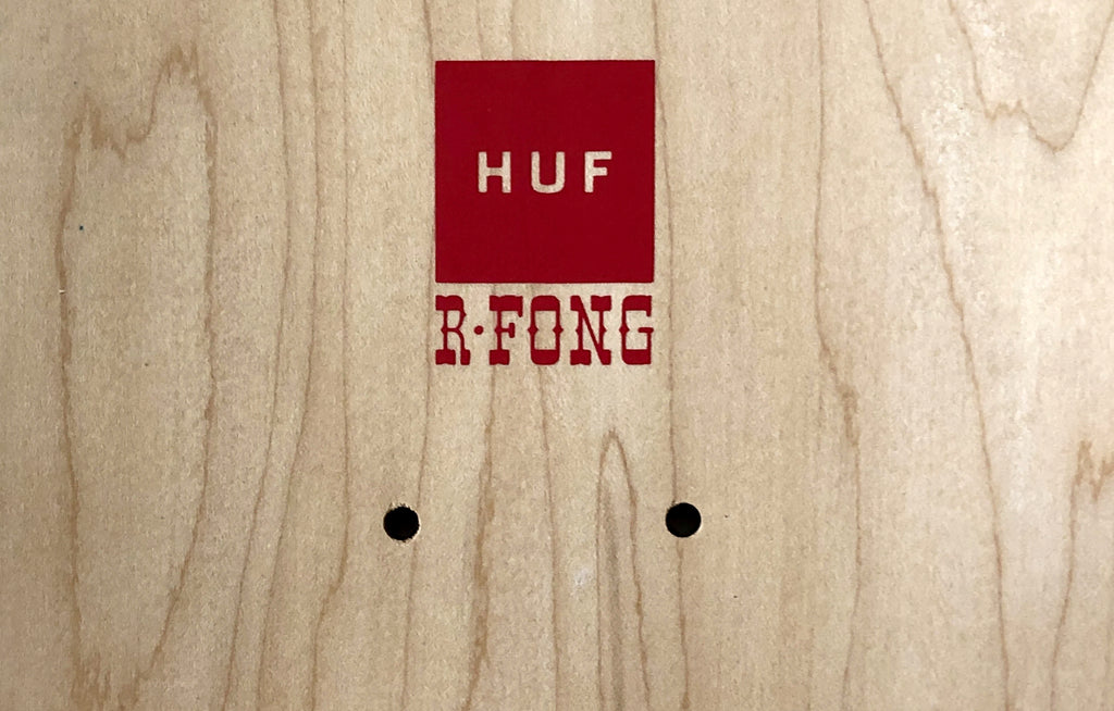 Barry McGee x Huf Cruiser Skateboard