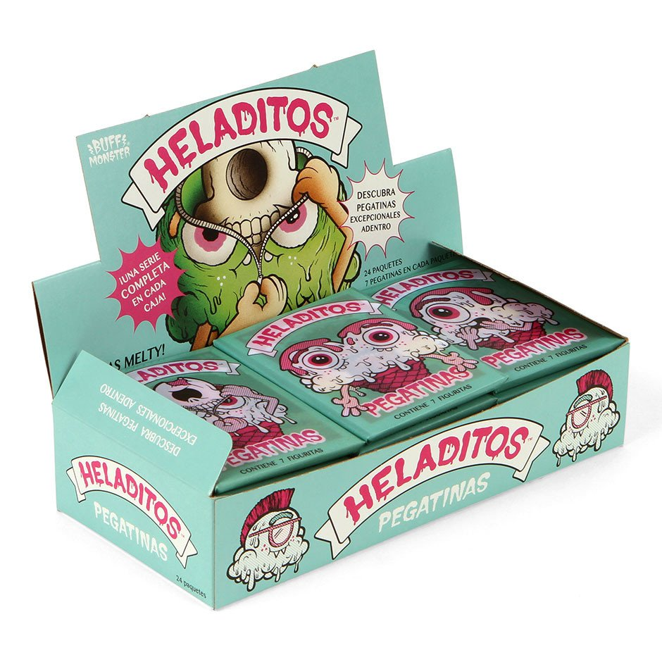 Heladitos Pegatinas Trading Cards by Buff Monster