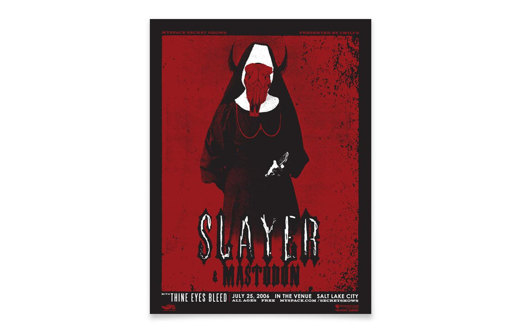 Slayer w/ Mastodon and Thine Eyes Bleed [July 25th 2006] by Micah Smith