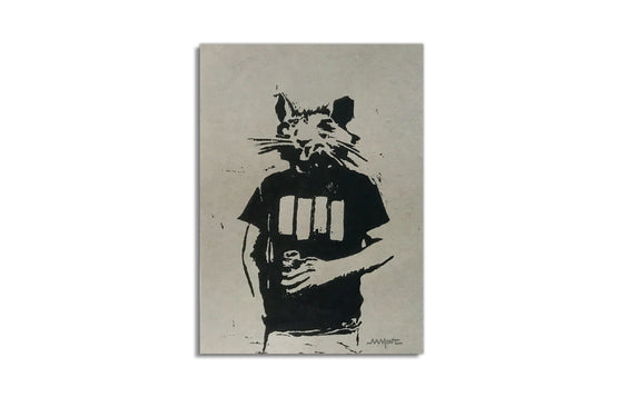 Black Flag Rat Punk by MMont