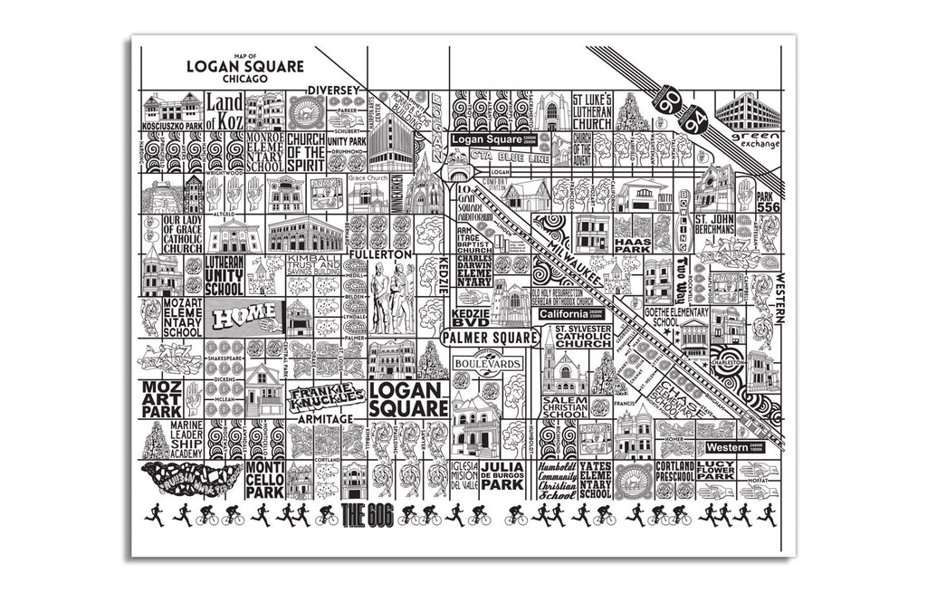 Logan Square by Joe Mills