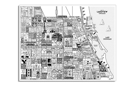 Lakeview Map by Joe Mills