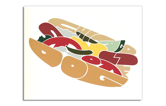Chicago Style Hot Dog by Joe Mills