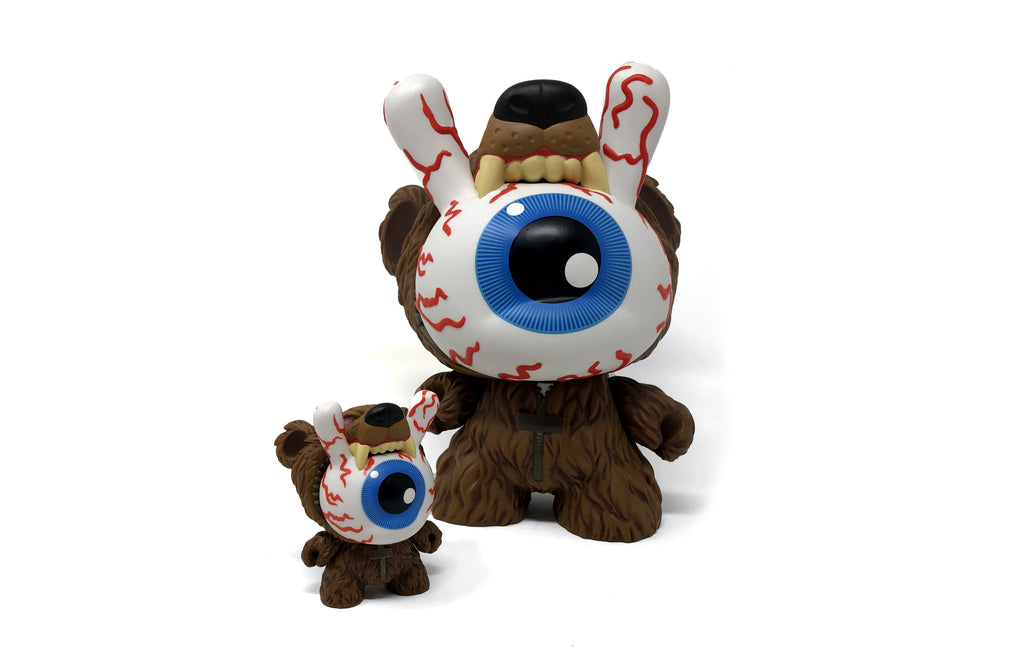 "Bad News Bear [3""] by Mishka x Kidrobot"