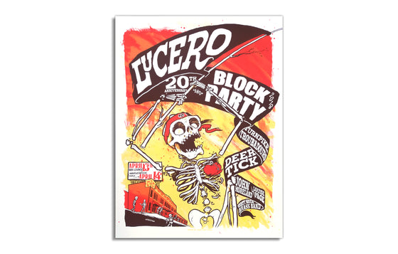 Lucero - 20th Anniversary Block Party 2018 by Moon Light Speed