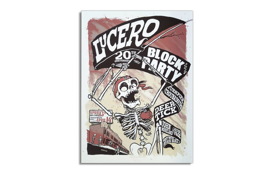 Lucero - 20th Anniversary Block Party 2018 [Variant] by Moon Light Speed