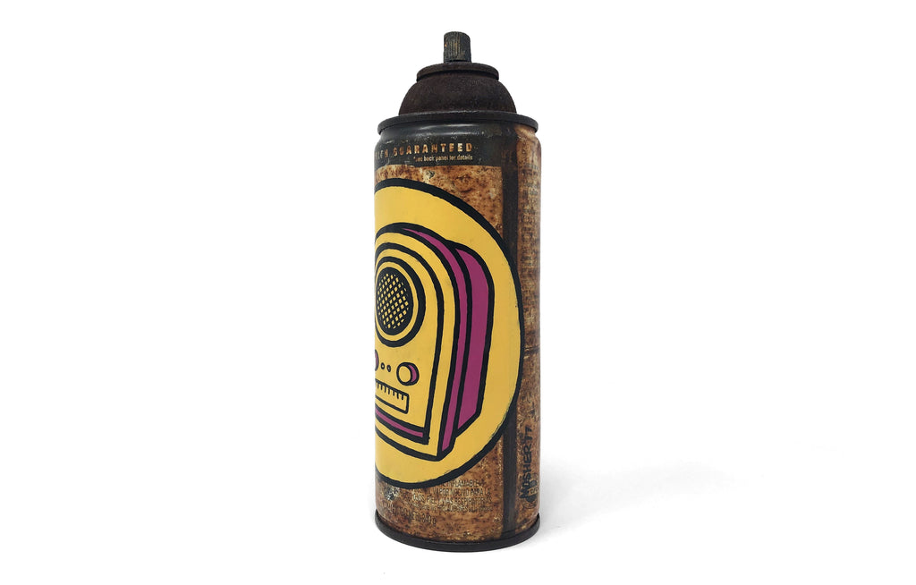 Spray Paint Can [Patient Boy/ Radio] by Mosher