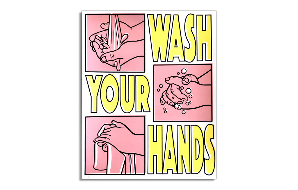 Wash Your Hands by Mosher