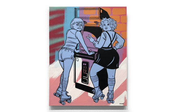 Ruth & Maxine at Arcade by Mosher