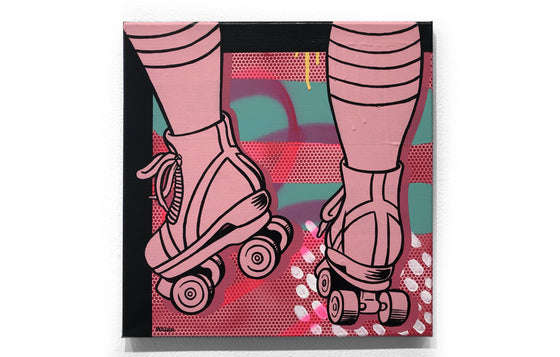 Roller Skates #1 by Mosher