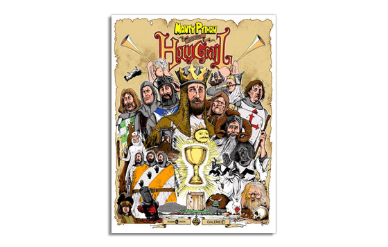 Monty Python and the Holy Grail by Jordan Monsell