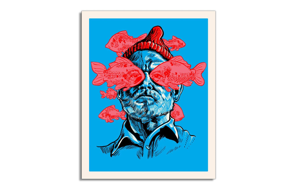 He Is The Zissou by Tim Doyle