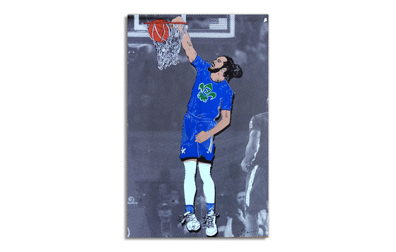 Joakim Noah, 2014 All-Star Game by Andy Schmidt