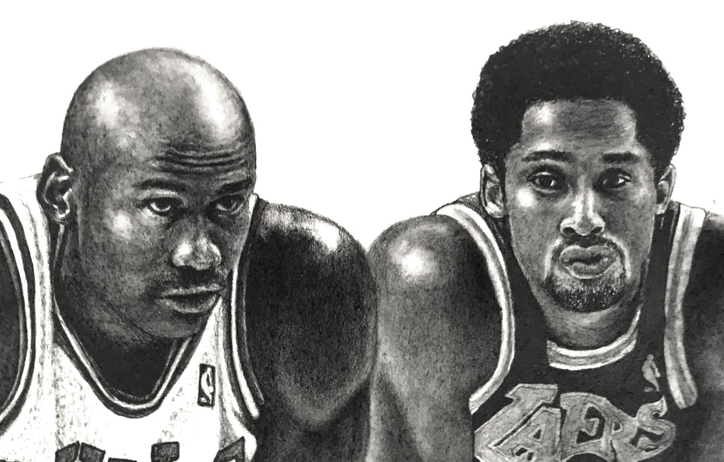MJ Versus The Mamba by MMont