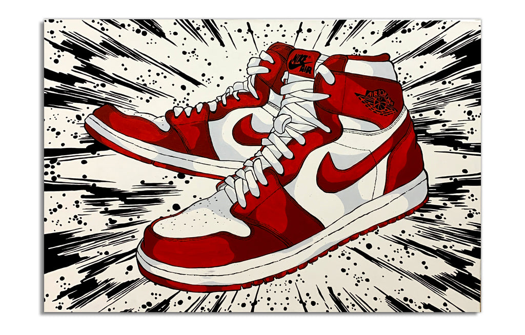 Air Jordan 1 - Galaxy by Eric Pagsanjan