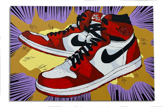 Air Jordan 1 - Splat by Eric Pagsanjan