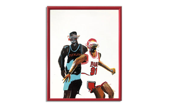 Bulls vs Cleveland by Terrible Tony