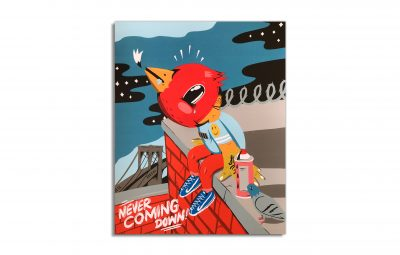 Never Coming Down [Screen Print] by Sentrock