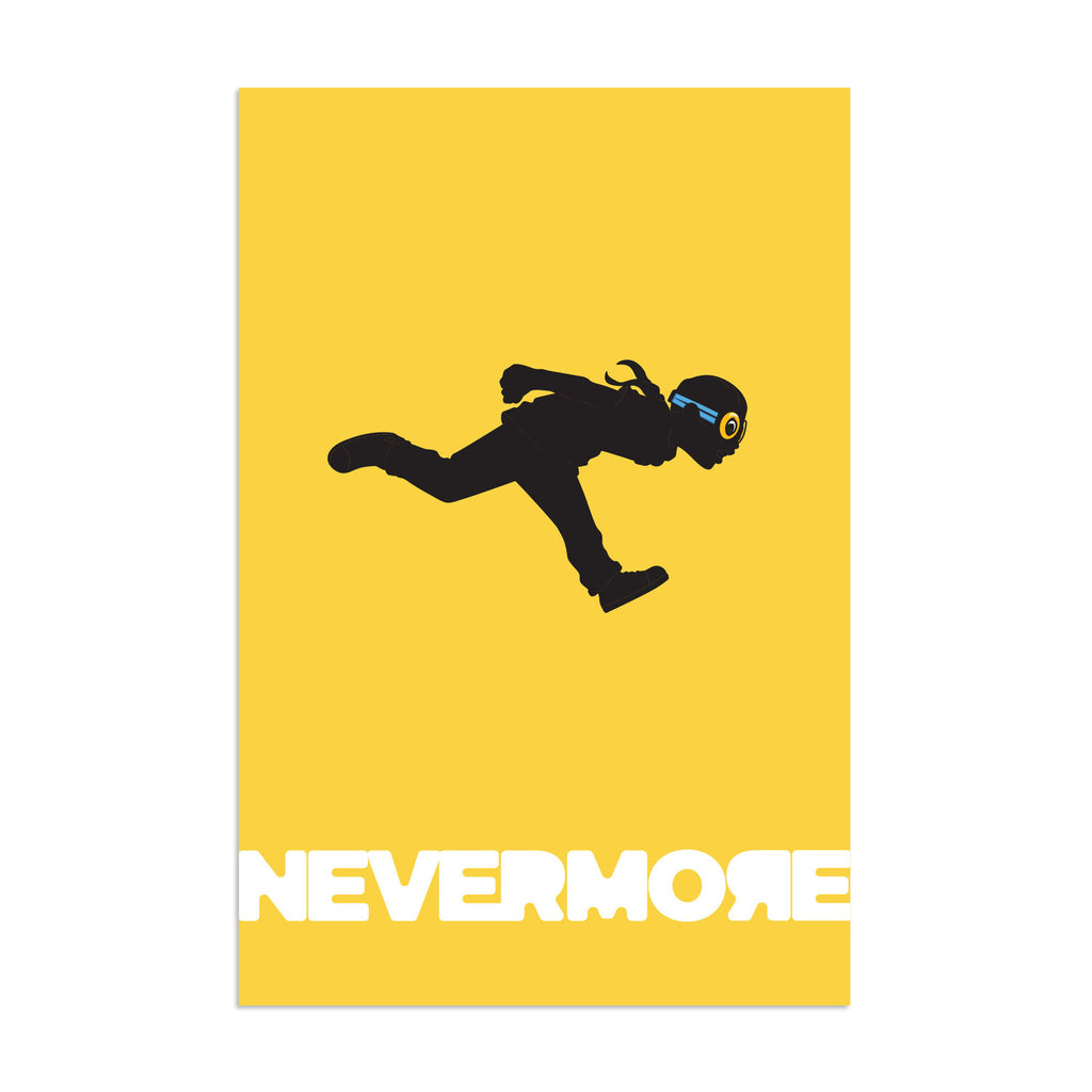 Nevermore Flyboy Run by Hebru Brantley