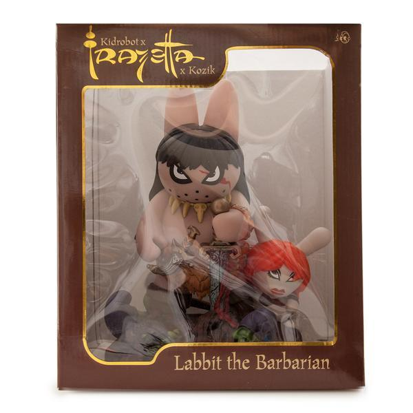 Labbit the Barbarian by Frank Kozik for KidRobot