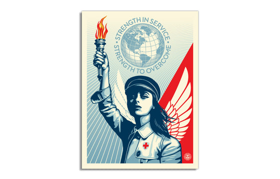 Angel of Hope and Strength by Obey