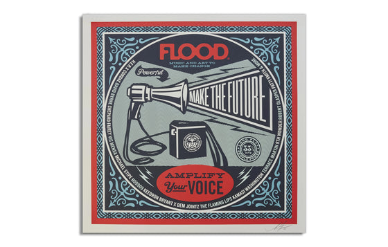 Flood Magazine by Shepard Fairey