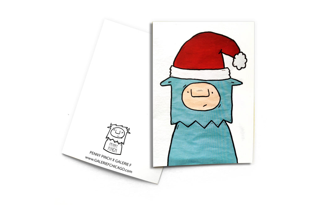 Notecard [In a Hat] by Penny Pinch