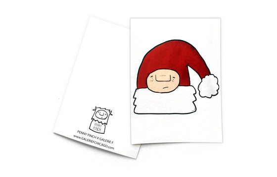 Notecard [Christmas Hat] by Penny Pinch