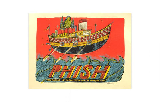 Phish [Cincinnati 2009] by Dan Grzeca