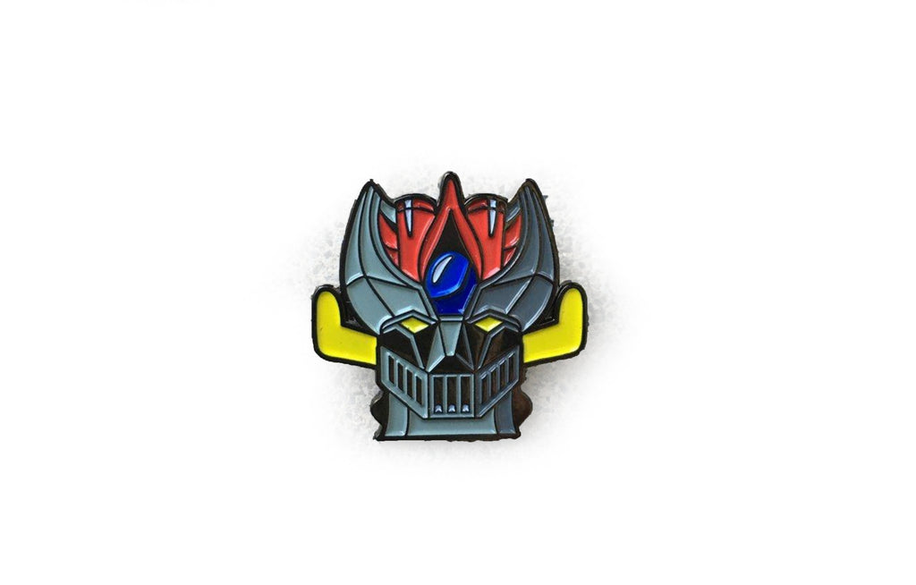 The Great Mazinga Enamel Pin from Rubbish Rubbish