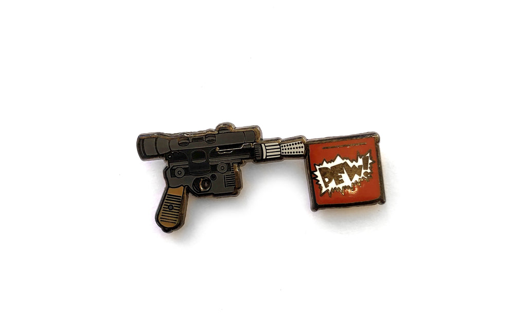 Practical Scoundrel Enamel Pin by Punch It Chewie Press