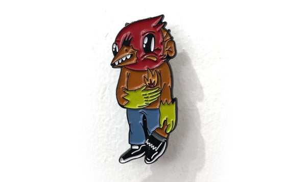 Enamel Pin [Flame] by Sentrock