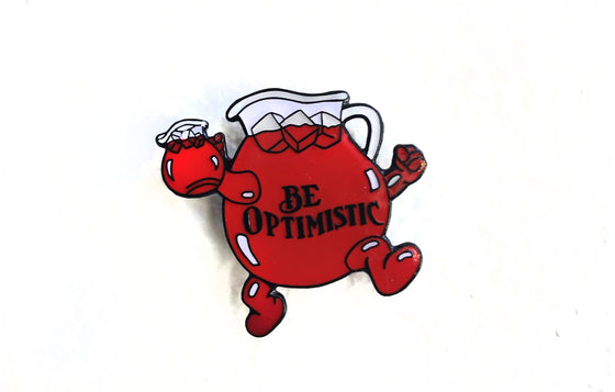Enamel Pin [Kool Aid] by Be Optimistic