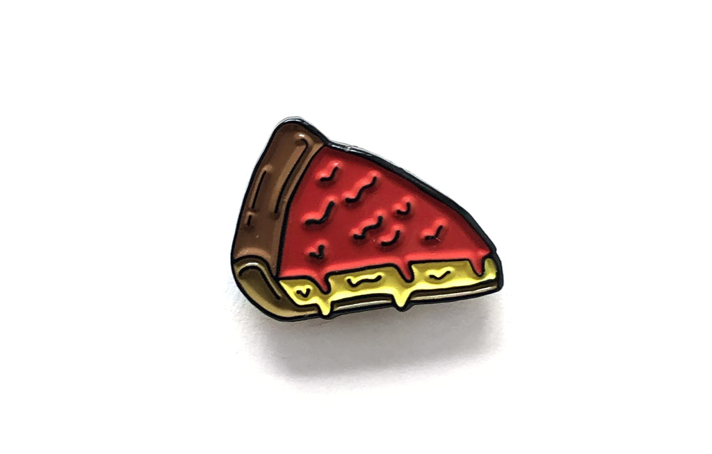 Deep Dish Pin by Reppin Pins