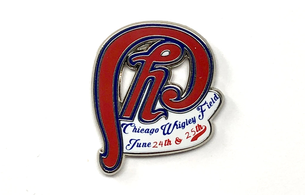 Phish [Chicago Logo] Wrigley Field 2016