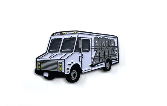 Box Truck Enamel Pin by KAER67