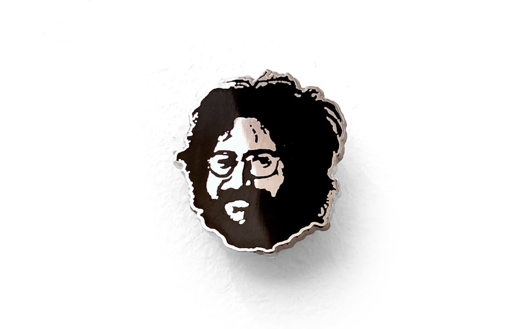 Jerry G Enamel Pin by Glass Cuisine
