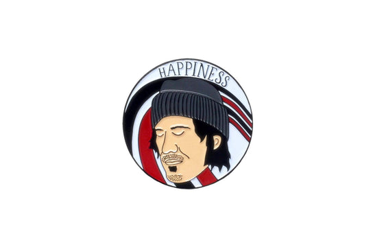 Enamel Pin [Elliott Smith] by Arthur's Plaid Pants