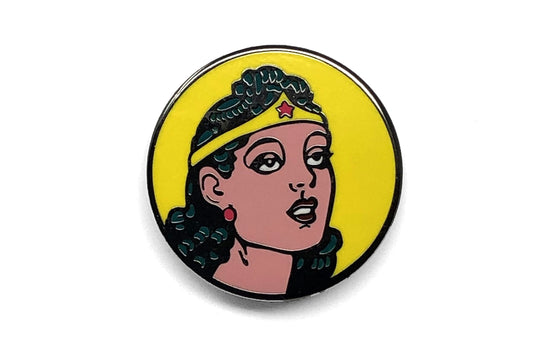 Wonder Woman 1942 Enamel Pin by Mutant Pins