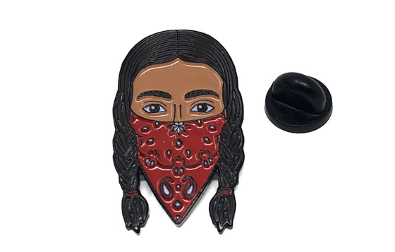Zapatista Enamel Pin from Brk House