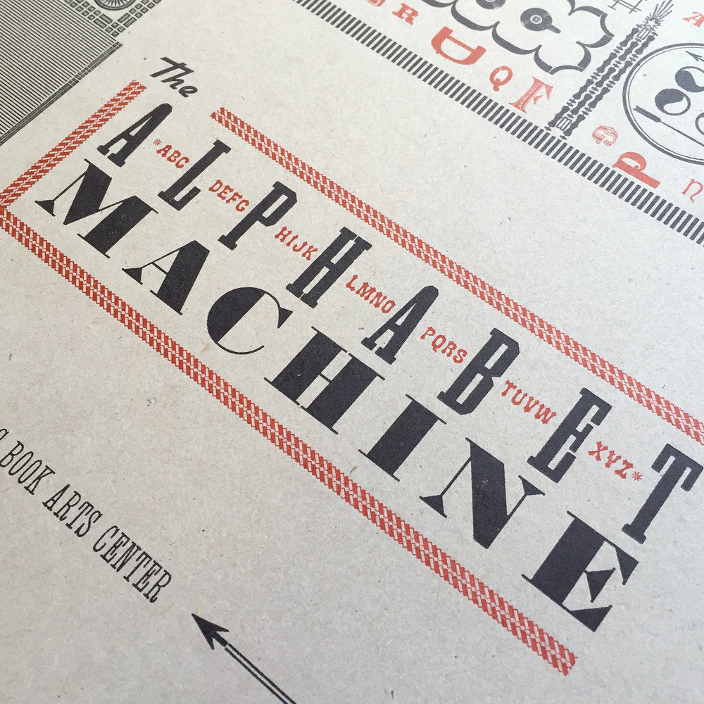 Alphabet Machine by Starshaped Press